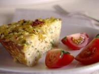 TV Dinner:  Chicken and Orzo Frittata
