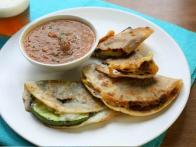 Meatless Monday: Grilled Squash Quesadillas with Tomato Salsa