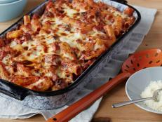 Cooking Channel serves up this Pasta Al Forno: Oven Baked Pasta recipe from David Rocco plus many other recipes at CookingChannelTV.com