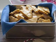 Cooking Channel serves up this Pine Nut Brittle recipe from Roger Mooking plus many other recipes at CookingChannelTV.com
