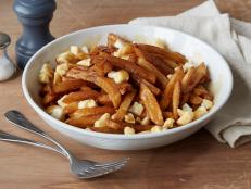 Cooking Channel serves up this Chuck's Awesome Poutine recipe from Chuck Hughes plus many other recipes at CookingChannelTV.com