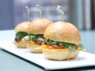 Duck Confit Sliders, Banh-Mi Style