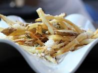 Duck Fat Fries with Rosemary and Parm with Greek Yogurt Aioli