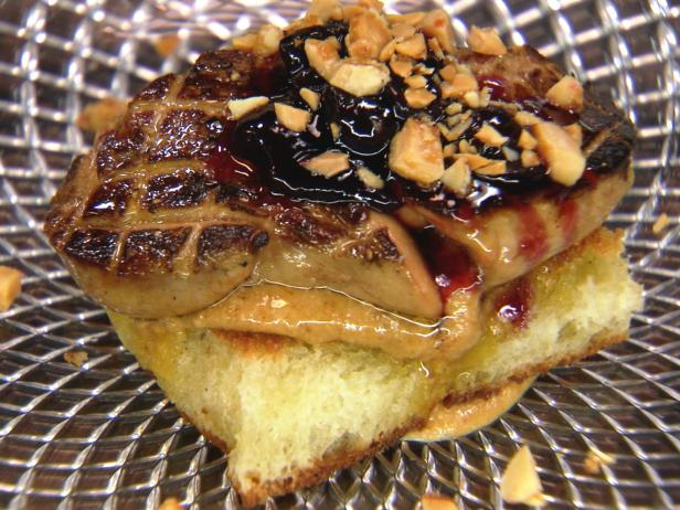 Peanut Butter and Jelly Foie Gras