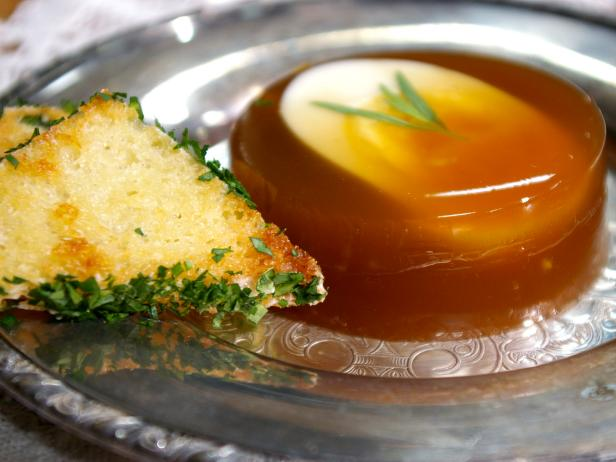 Jellied Eggs with Tarragon