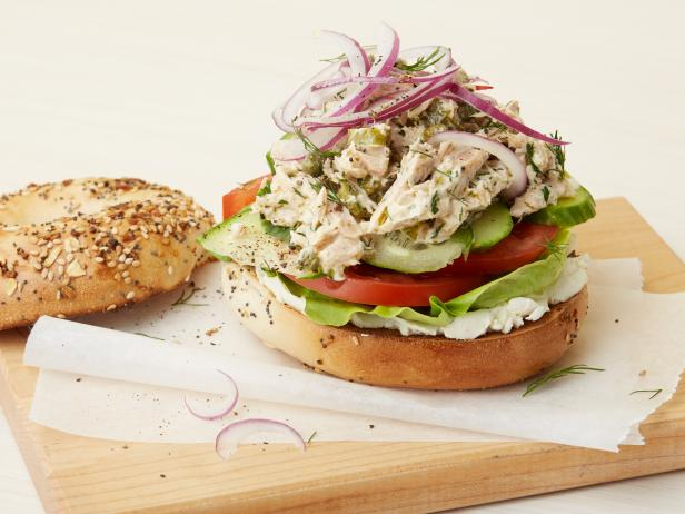 Tuna Everything Bagel
