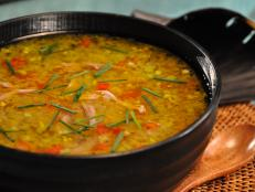 Cooking Channel serves up this Lentil Soup recipe from Roger Mooking plus many other recipes at CookingChannelTV.com