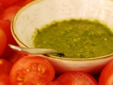 Cooking Channel serves up this Parsley-Lemon Pesto recipe from David Rocco plus many other recipes at CookingChannelTV.com
