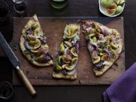 Fig and Blue Cheese Flatbread