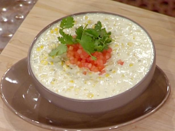 Corn and Goat Cheese Queso