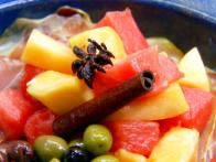 Spicy Melon and Serrano Ham