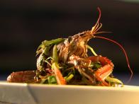 Langoustine and Samphire Stir-Fry