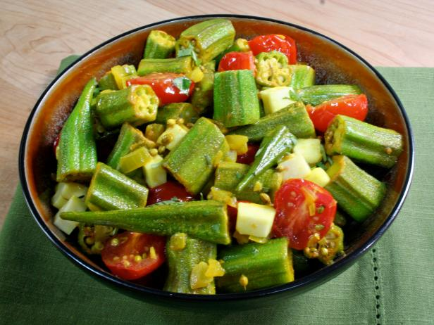 Spiced Okra : Recipes : Cooking Channel Recipe | Bal Arneson | Cooking ...