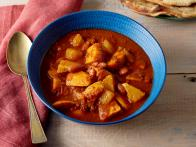 Kidney Bean Stew with Sweet Potatoes and...