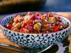 Cooking Channel serves up this Okra Chili recipe from Roger Mooking plus many other recipes at CookingChannelTV.com