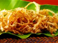 Crispy Onions with Five Spice
