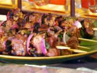 Lamb Kebabs with Tamarind Sauce