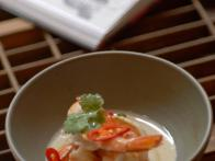 King Prawns Sauteed in Coconut Milk
