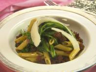 Penne Rigate Sauteed with Rapini and Merguez Sausage