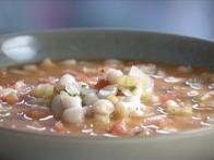 White Bean and Chorizo Soup