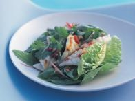 Spicy Squid Salad with Cucumber and Capers
