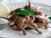 Barbecued Quail with Spiced Salt and Lemon
