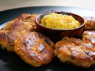 Crispy Sweet Potato Cakes