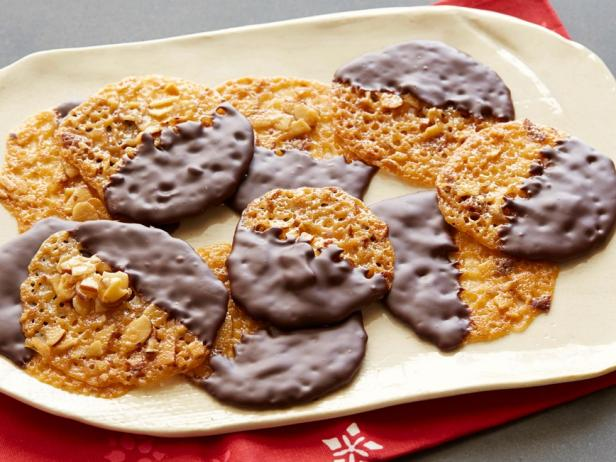 Honey-Almond Lace Cookies