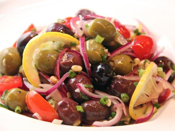 Marinated Olive and Tomato Salad