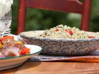 Quinoa Salad with Twig Farm Goat Tomme