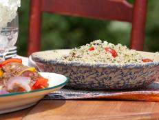 Cooking Channel serves up this Quinoa Salad with Twig Farm Goat Tomme recipe  plus many other recipes at CookingChannelTV.com