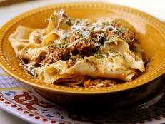 Cooking Channel serves up this Homemade Pappardelle recipe from Debi Mazar and Gabriele Corcos plus many other recipes at CookingChannelTV.com