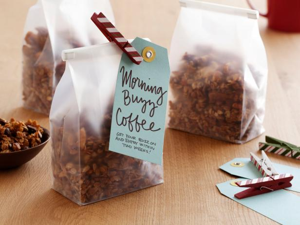 Chocolate-Espresso Morning Buzz Granola