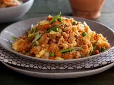 Cooking Channel serves up this Yangzhou Fried Rice recipe from Ching-He Huang plus many other recipes at CookingChannelTV.com