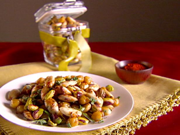 Toasted Cecchi, Almonds, and Pistachios