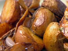Cooking Channel serves up this Oven-Roasted Potatoes recipe  plus many other recipes at CookingChannelTV.com