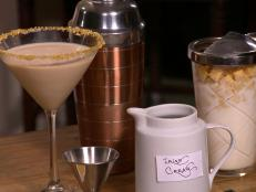 Cooking Channel serves up this Cereal Killer Cocktail recipe from Alie Ward  and Georgia Hardstark plus many other recipes at CookingChannelTV.com