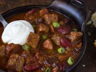 Beef and Andouille Chili