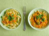 Pasta with Winter Squash and Tomatoes