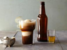 Cooking Channel serves up this Beer Float Your Boat Cocktail recipe from Alie Ward  and Georgia Hardstark plus many other recipes at CookingChannelTV.com