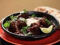 Mexican Beef Stew served with Tortillas and Black