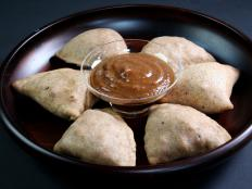 Cooking Channel serves up this Baked Samosas with Tamarind Chutney recipe  plus many other recipes at CookingChannelTV.com