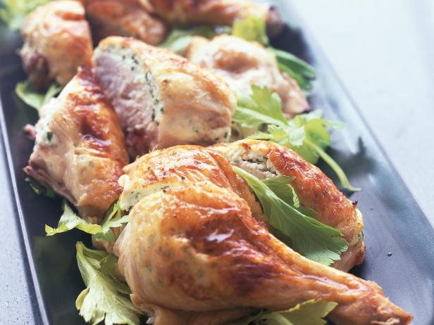 Ricotta and Herb-Stuffed Roast Chicken