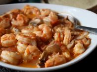 Shrimp in Chipotle Sauce