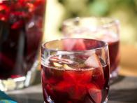 Ruby Red Sangria Made with Mixture of Fresh Fruit