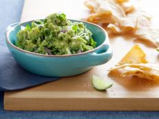 Cooking Channel serves up this Spicy Guacamole recipe from Bobby Flay plus many other recipes at CookingChannelTV.com