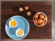 Egg Whites,Egg Yolks and Whole Eggs