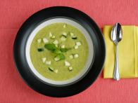 Mark Bittman Zucchini Pear Soup Overhead Shot