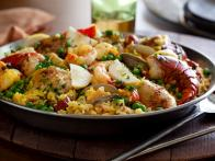 Ultimate Paella Courtesy of Tyler Florence