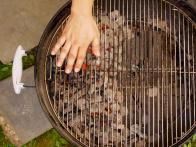 Grill Steaks Indirectly with Hot Coals to One Side